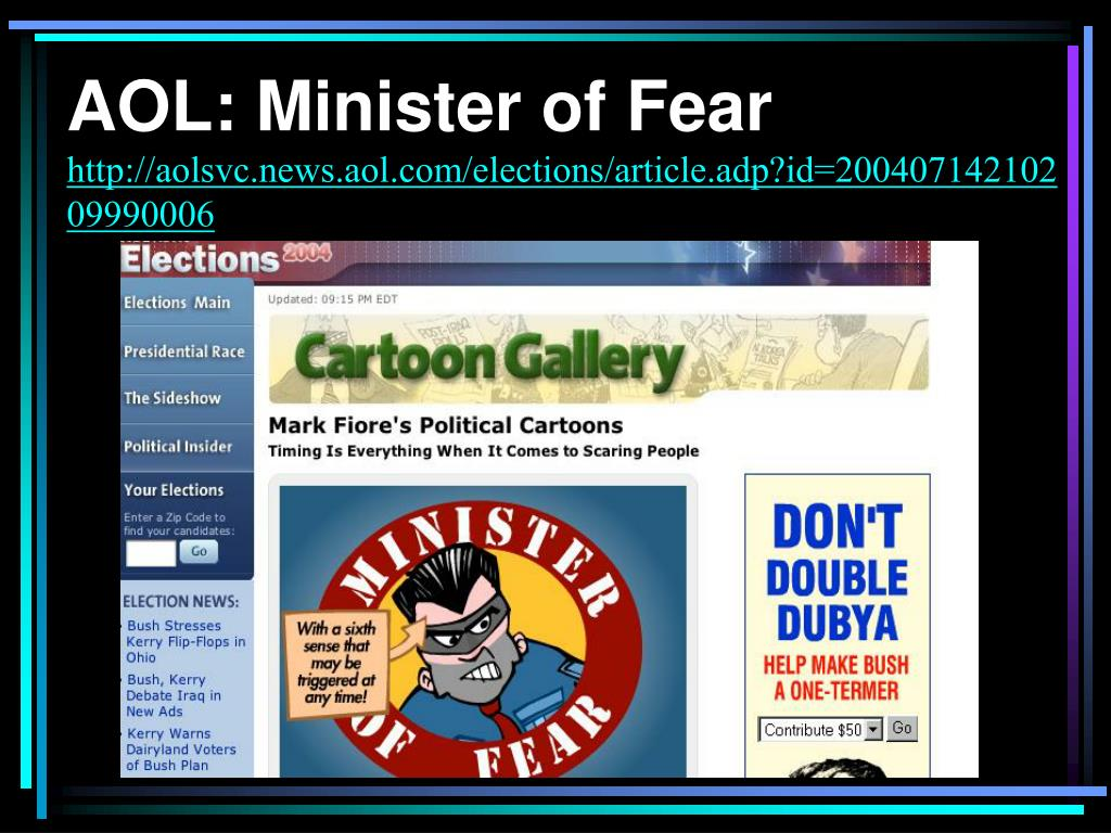 AOL: Minister of Fear
