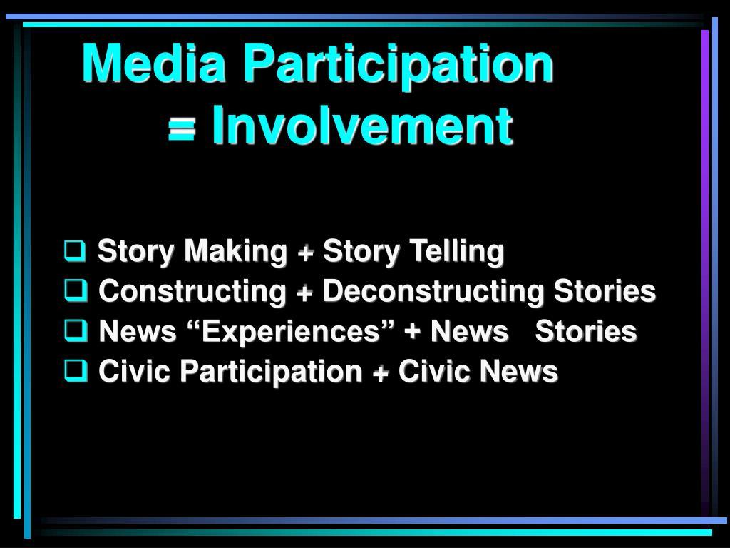 Media Participation