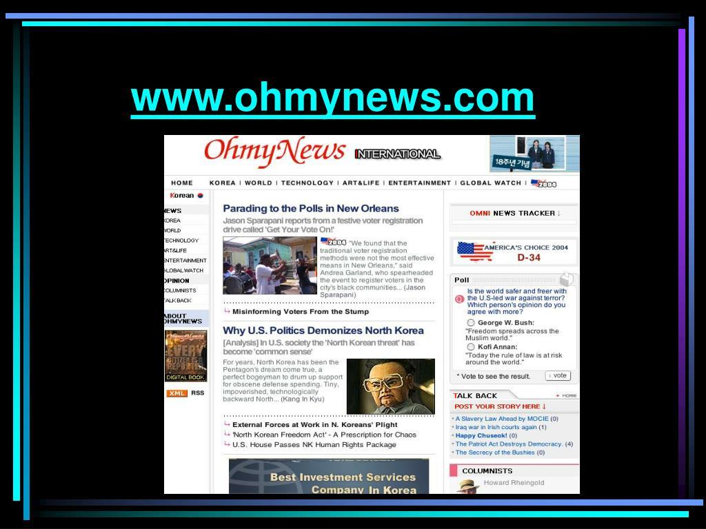 www.ohmynews.com