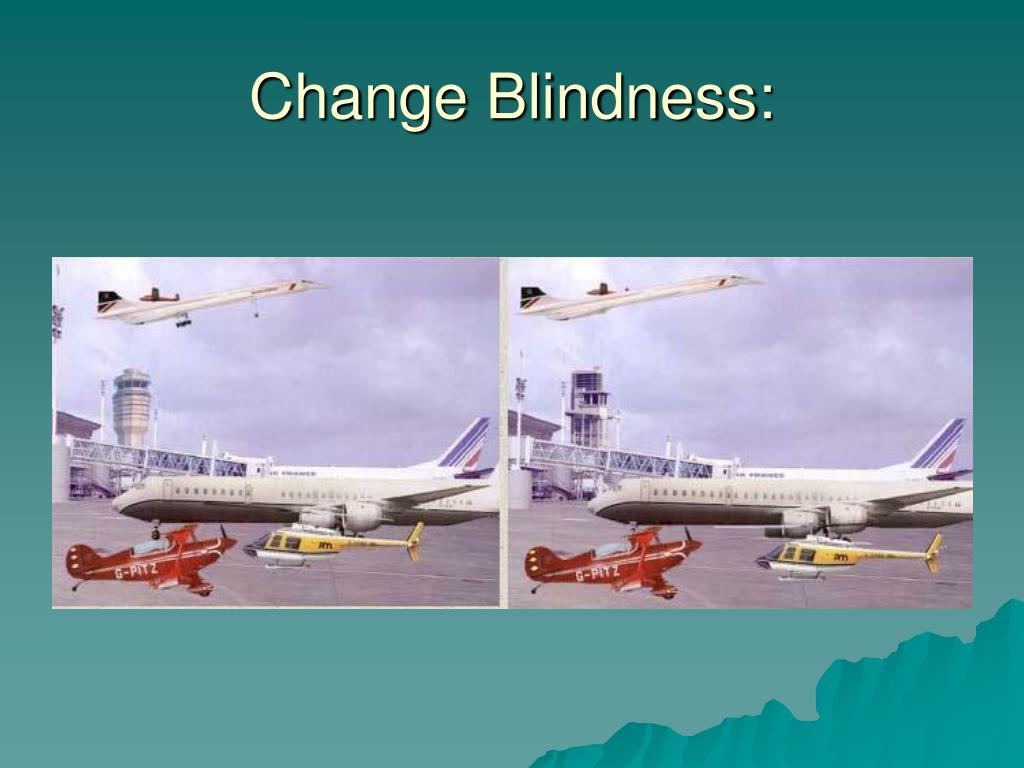 Change Blindness: