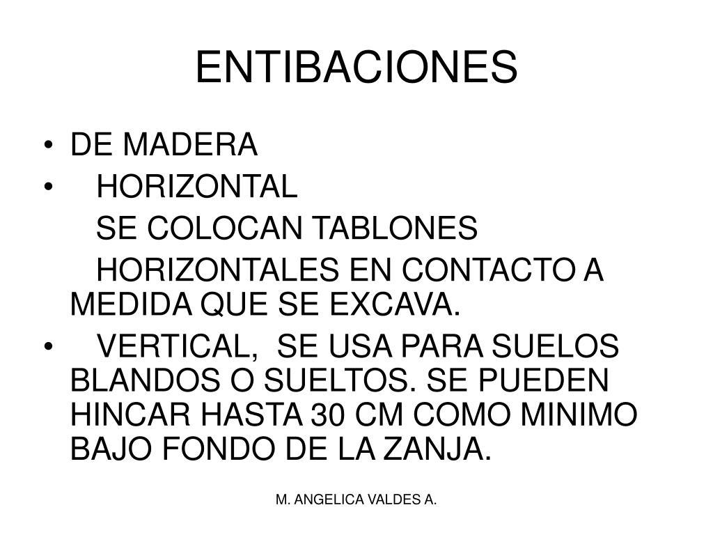 ENTIBACIONES