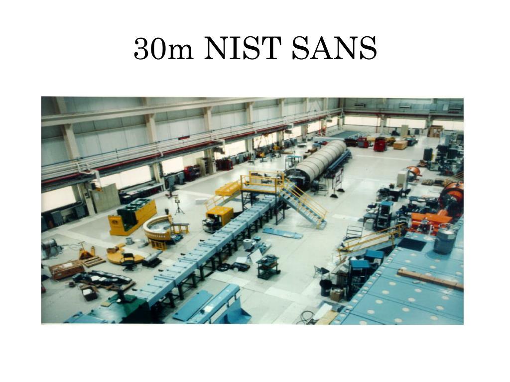 30m NIST SANS