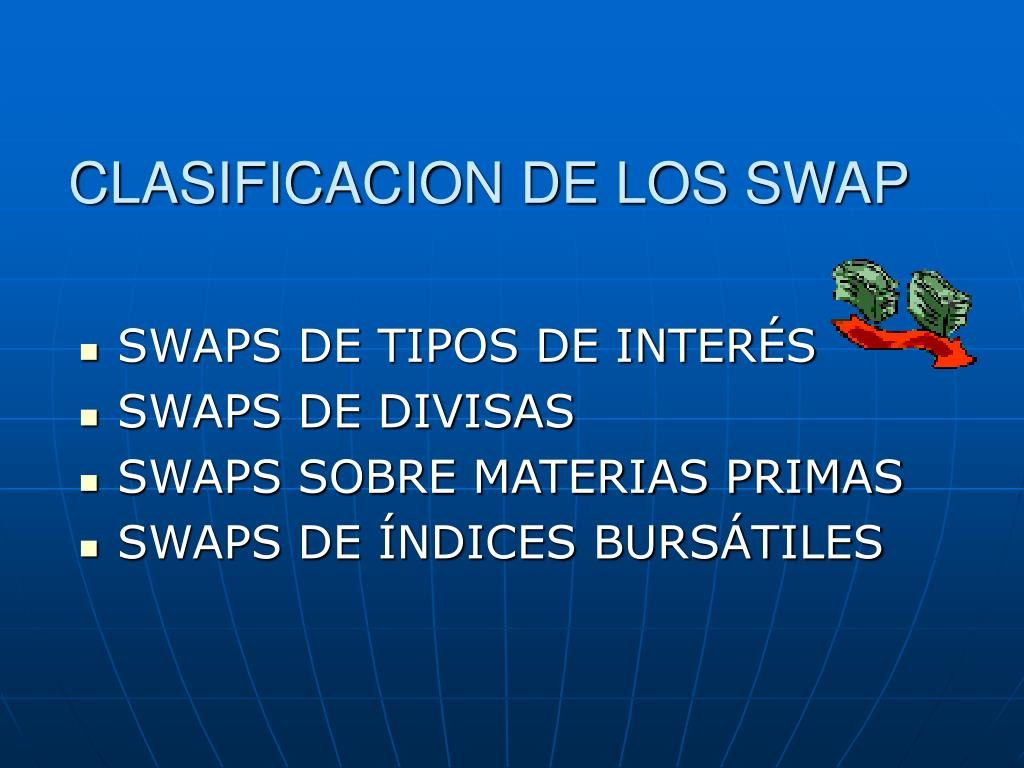CLASIFICACION DE LOS SWAP