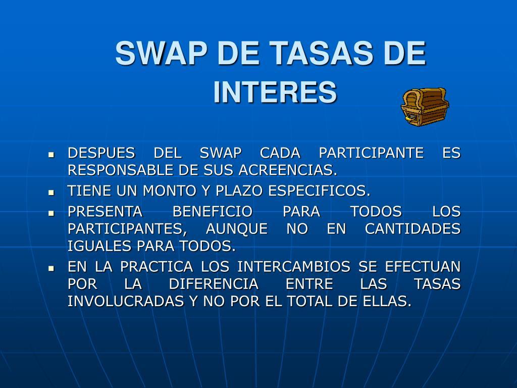 SWAP DE TASAS DE