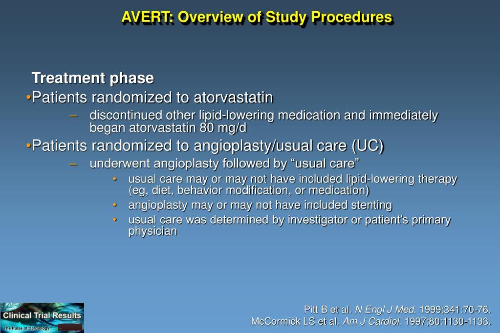 AVERT: Overview of Study Procedures