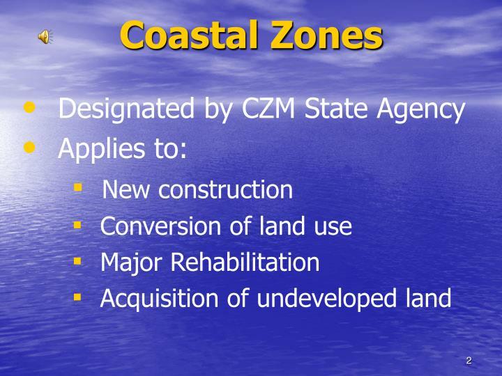 Coastal Zones