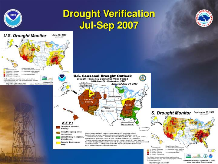Drought Verification