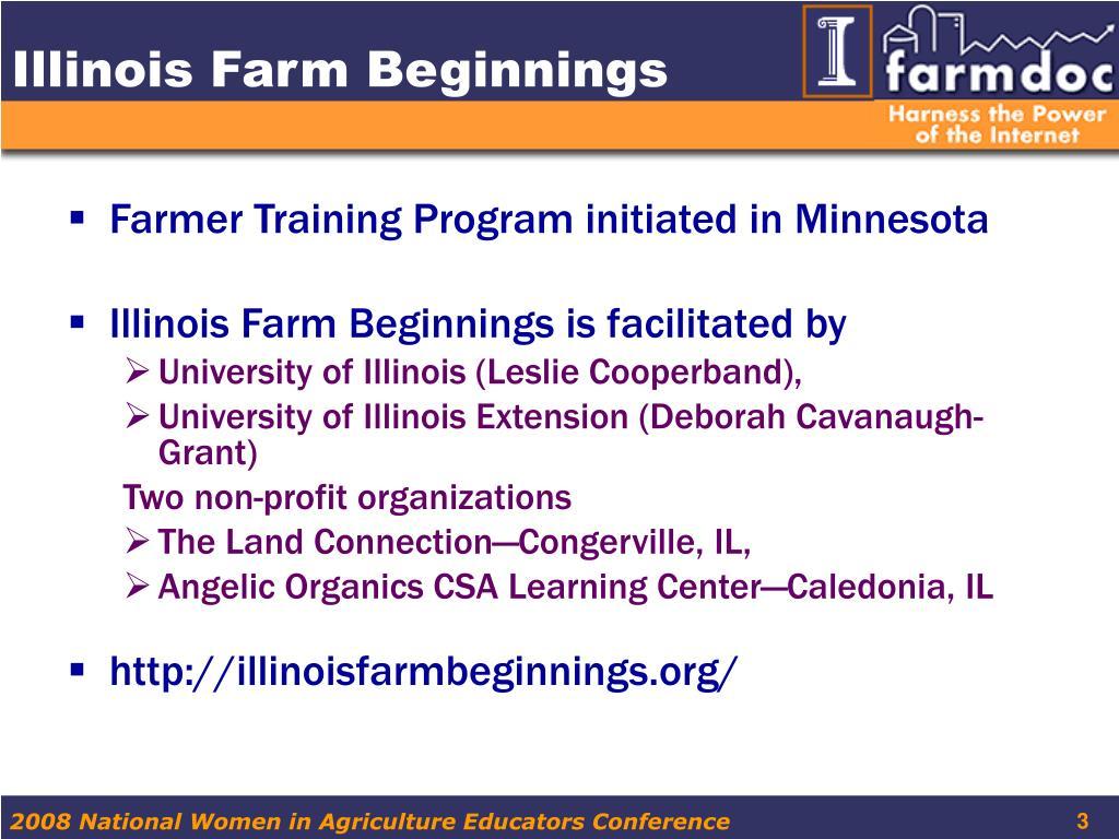 Illinois Farm Beginnings