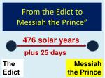 from the edict to messiah the prince64