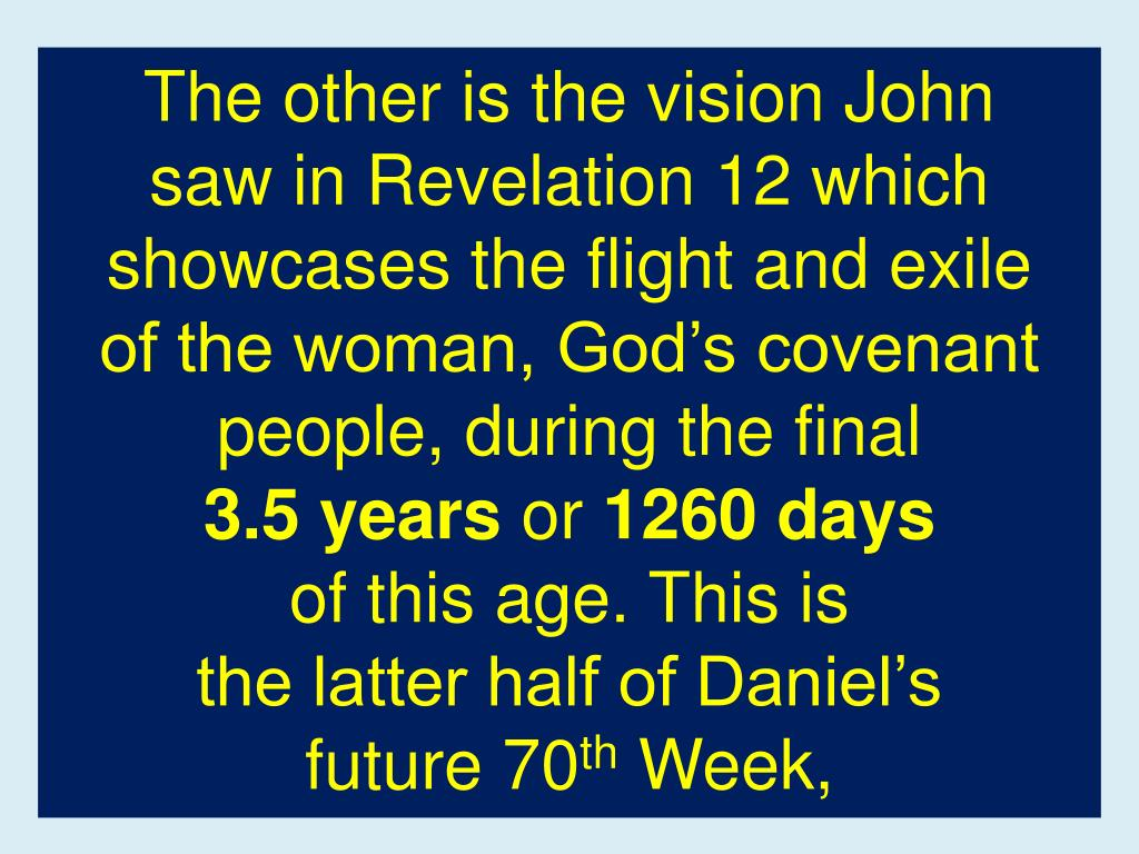 The other is the vision John