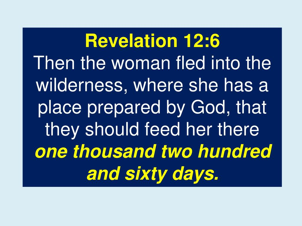 Revelation 12:6