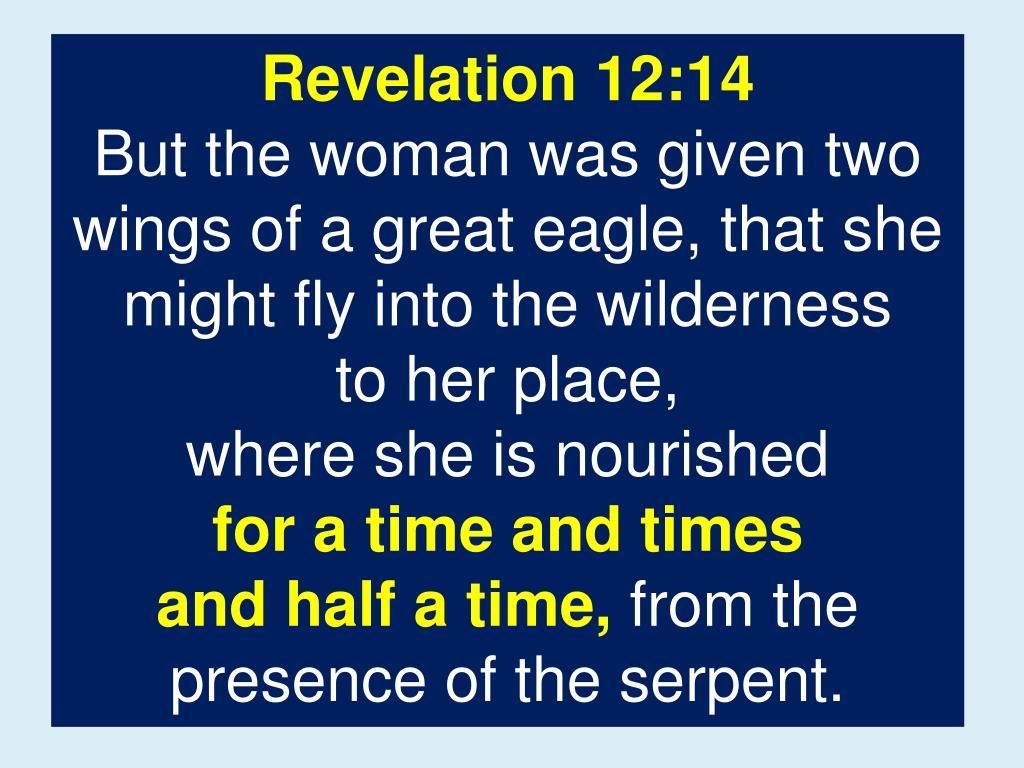 Revelation 12:14