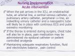 nursing implementation acute intervention43