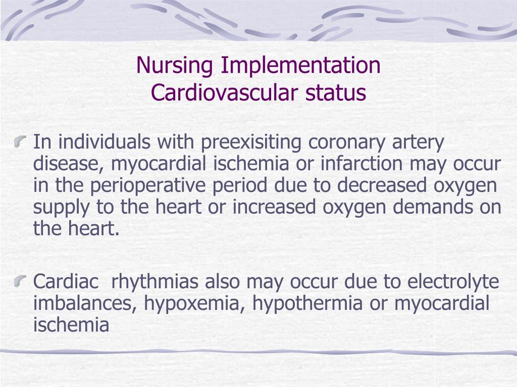 Nursing Implementation