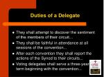 duties of a delegate1