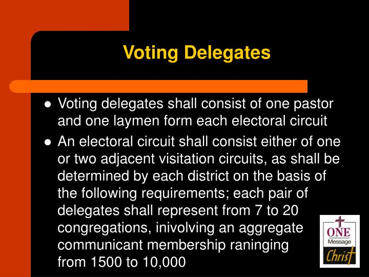 Voting Delegates