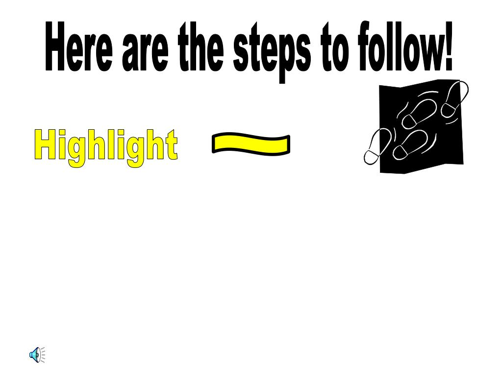 Here are the steps to follow!