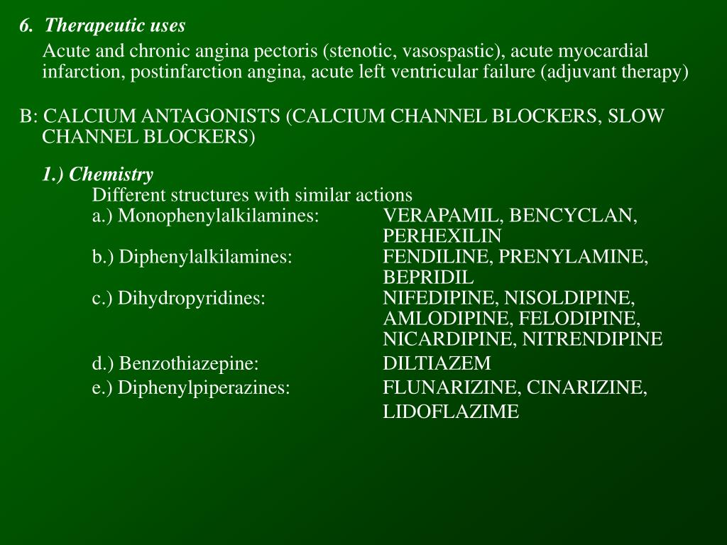 6.  Therapeutic uses
