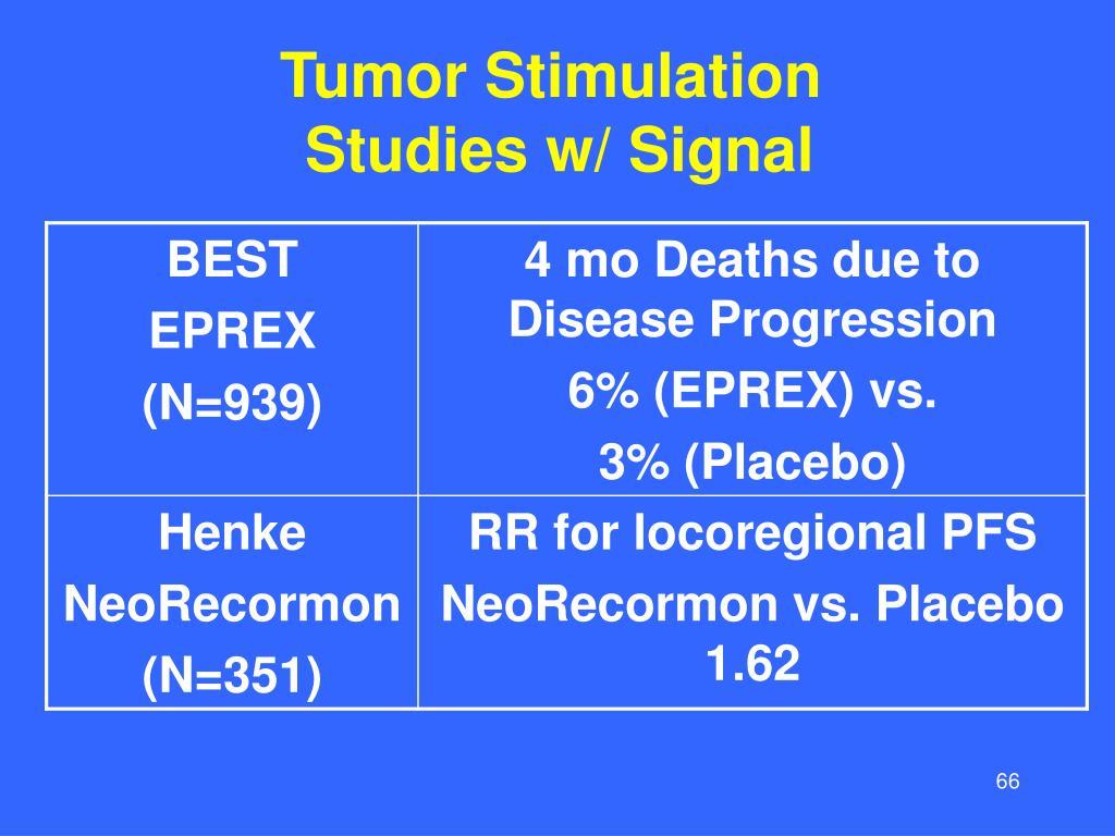 Tumor Stimulation