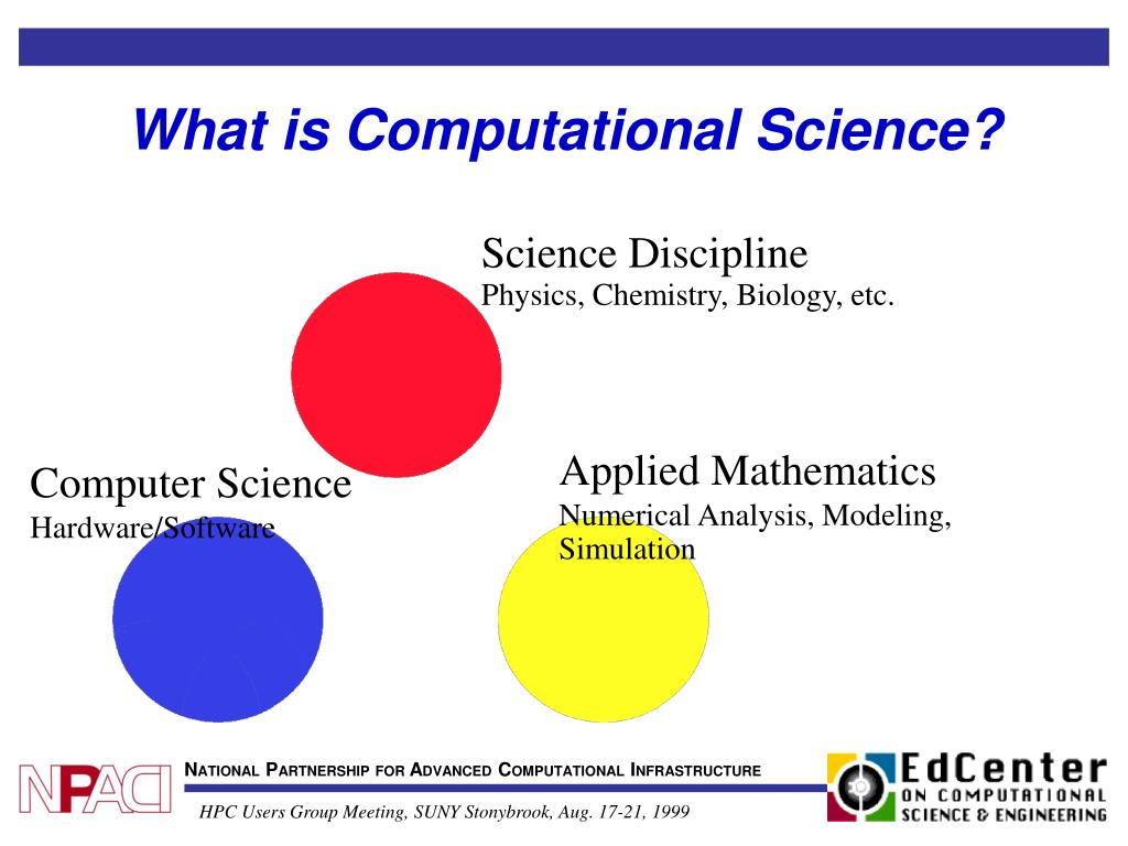 What is Computational Science?