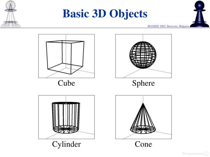 Basic 3D Objects