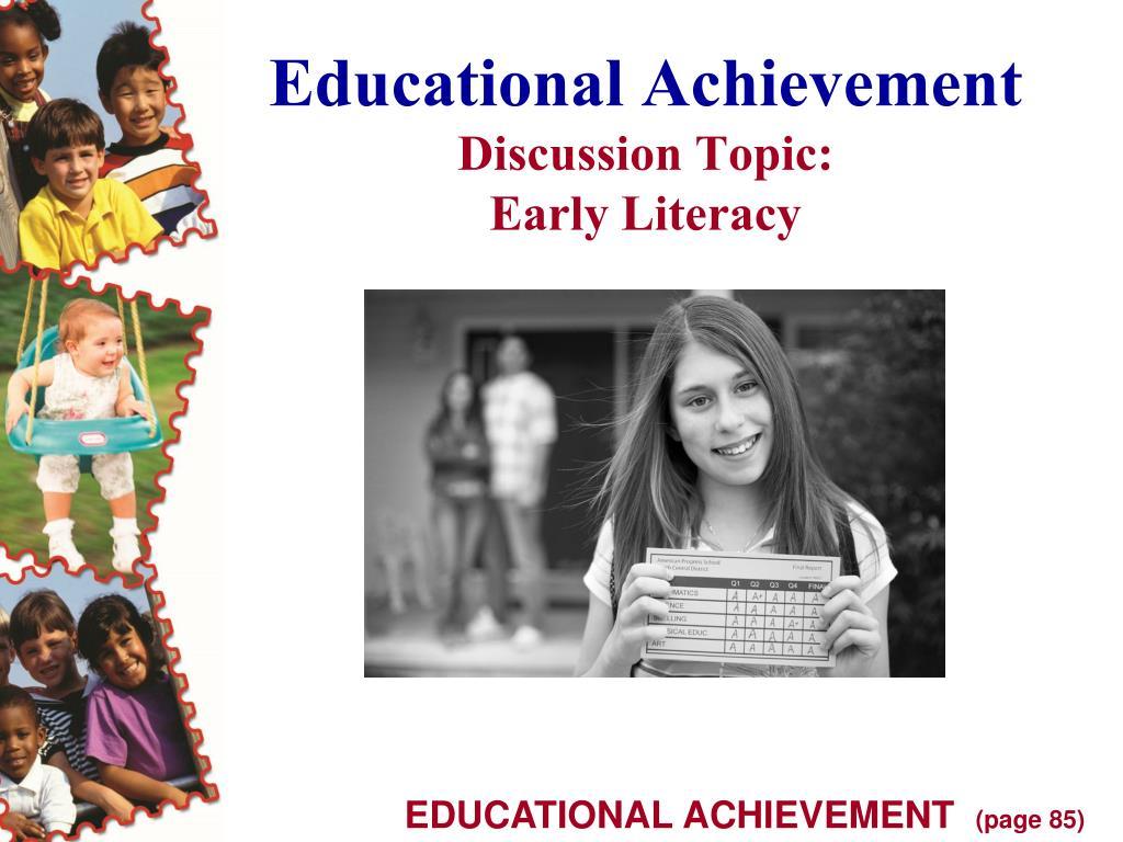 Educational Achievement