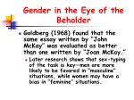 gender in the eye of the beholder12