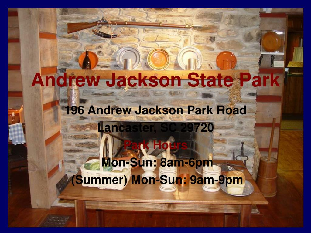 andrew jackson state park
