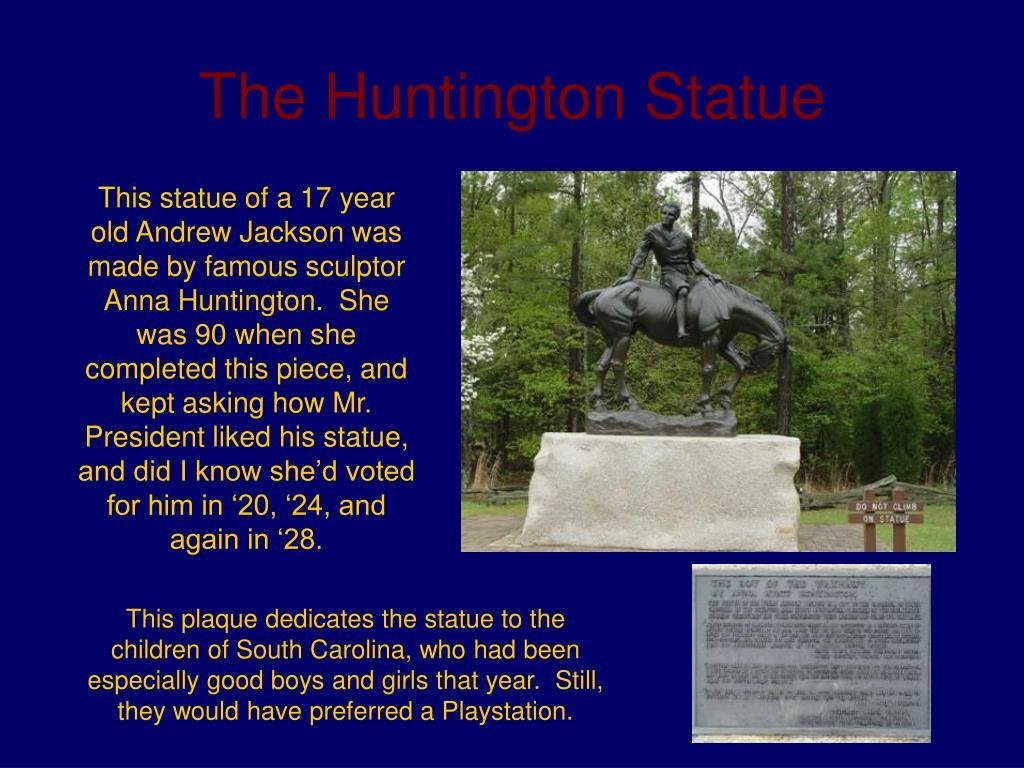 The Huntington Statue