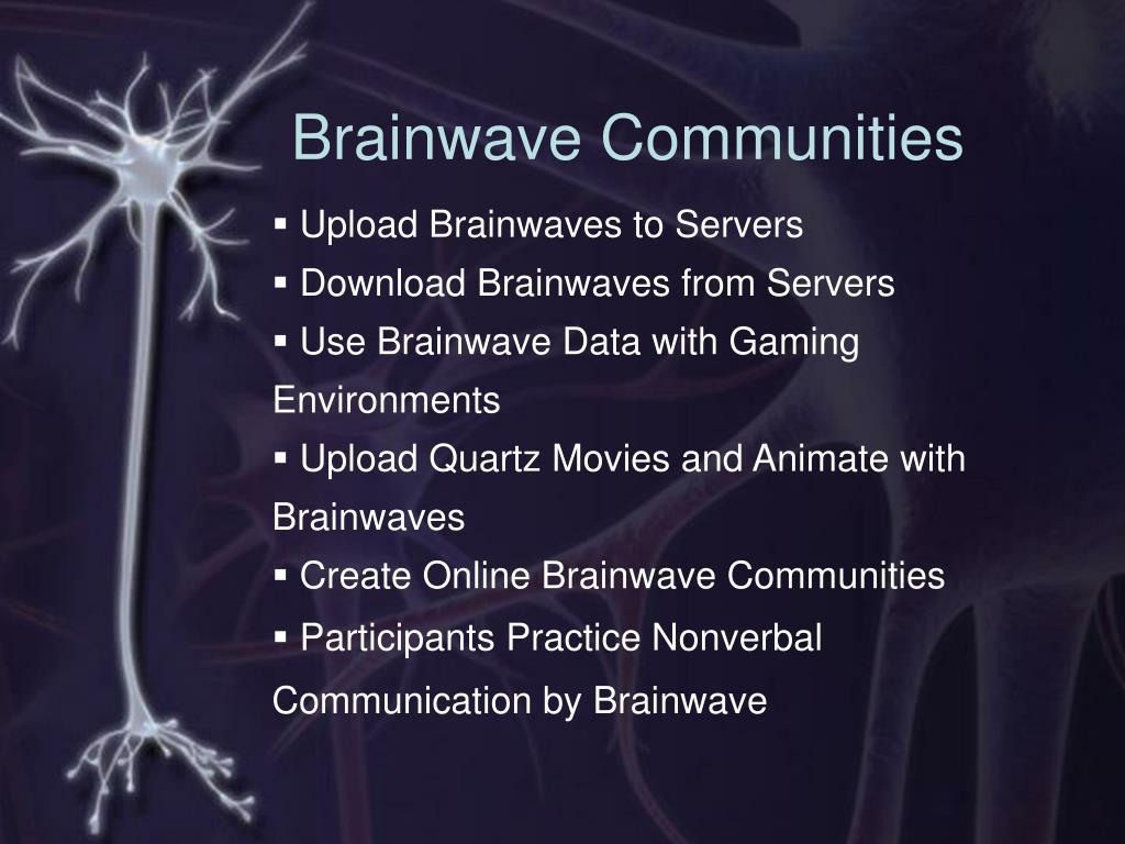 Brainwave Communities