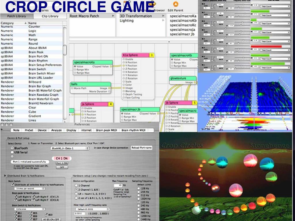 CROP CIRCLE GAME