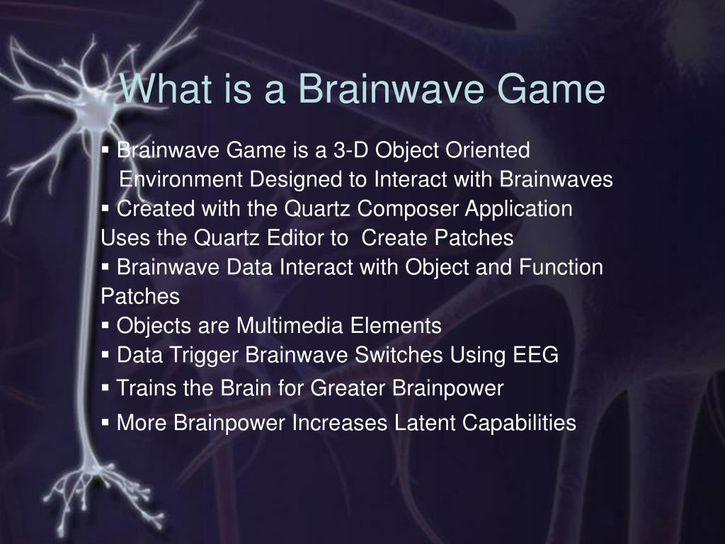 What is a Brainwave Game