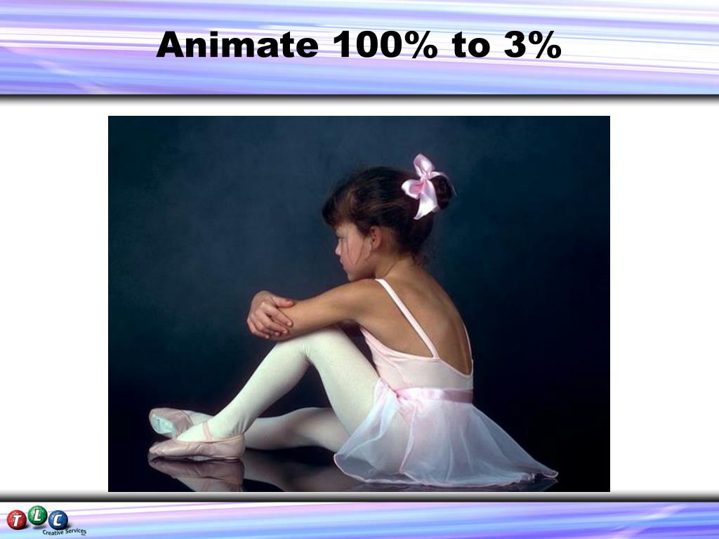 Animate 100% to 3%