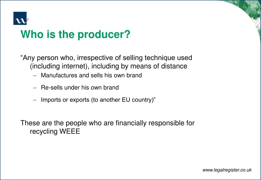 Who is the producer?