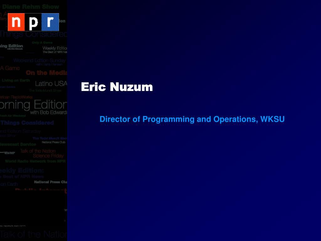 Eric Nuzum