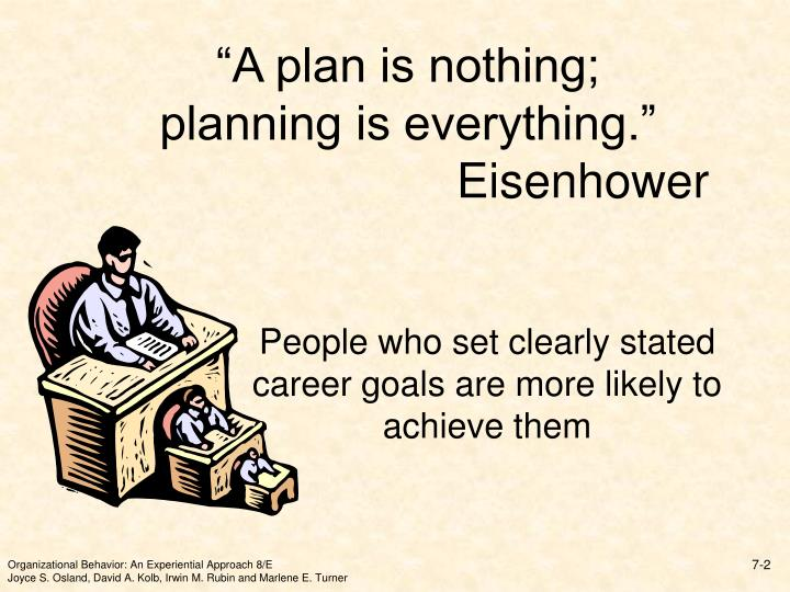 A plan is nothing planning is everything eisenhower