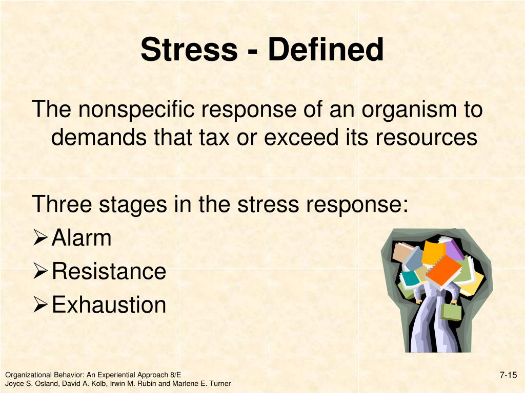 Stress - Defined