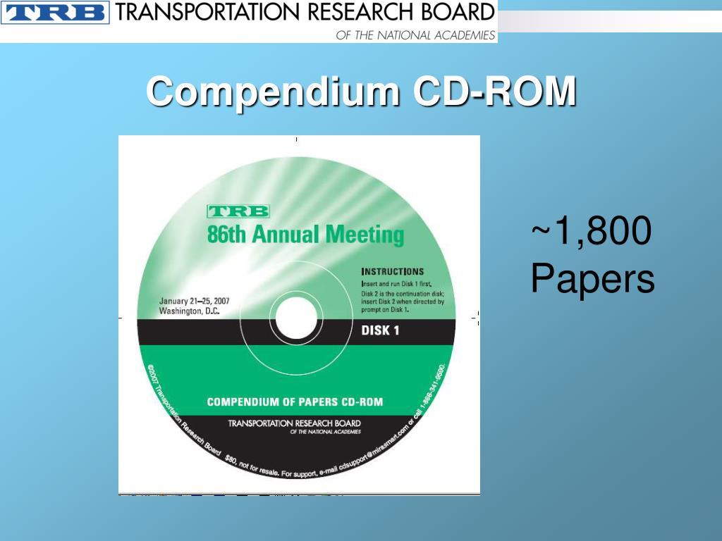 Compendium CD-ROM