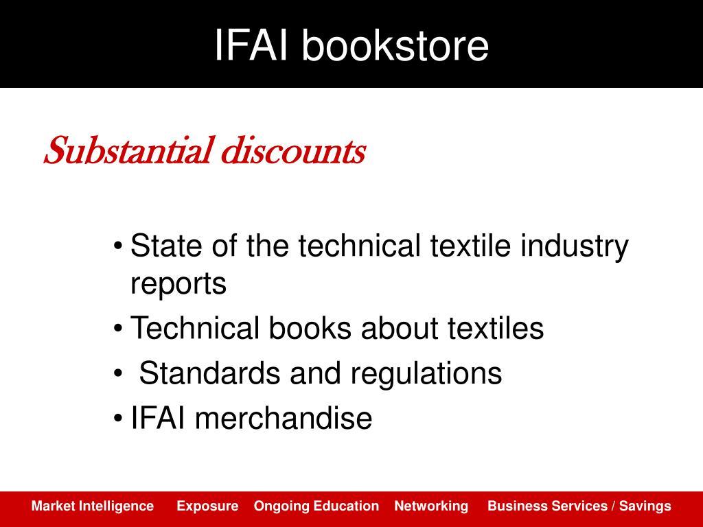 IFAI bookstore