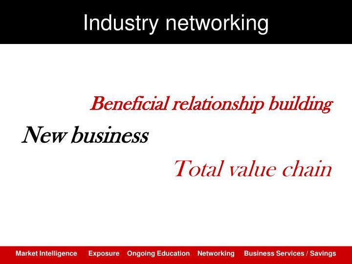 Industry networking