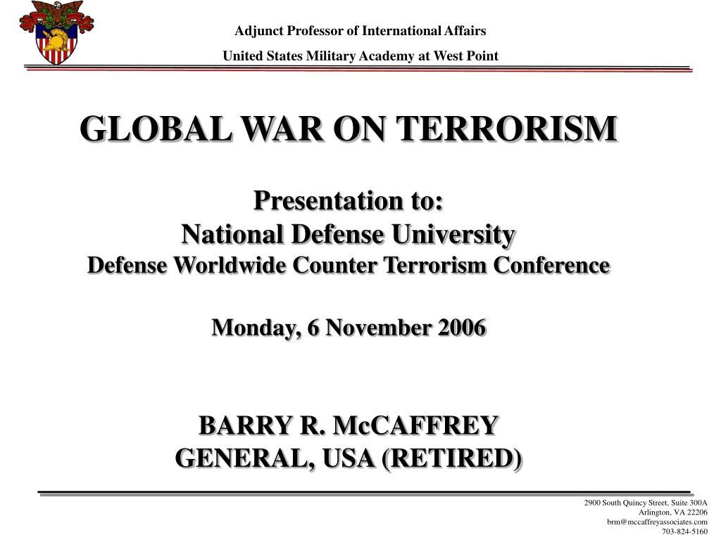 Adjunct Professor of International Affairs
