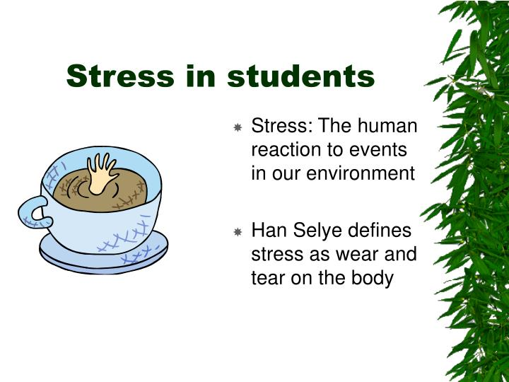 Stress in students