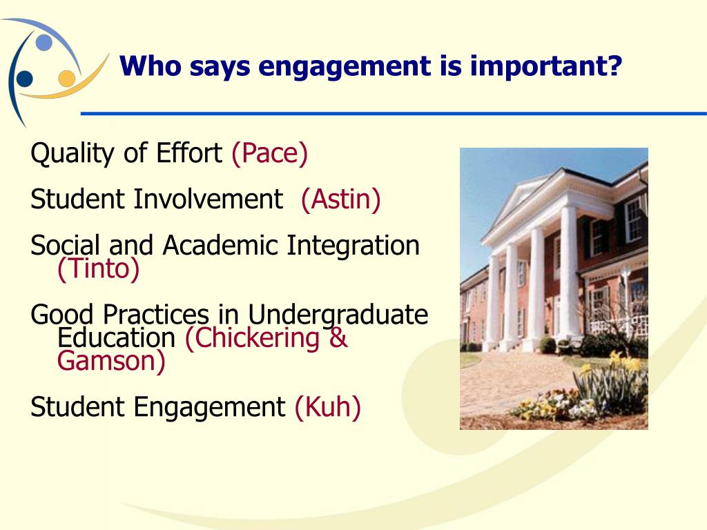 Who says engagement is important?