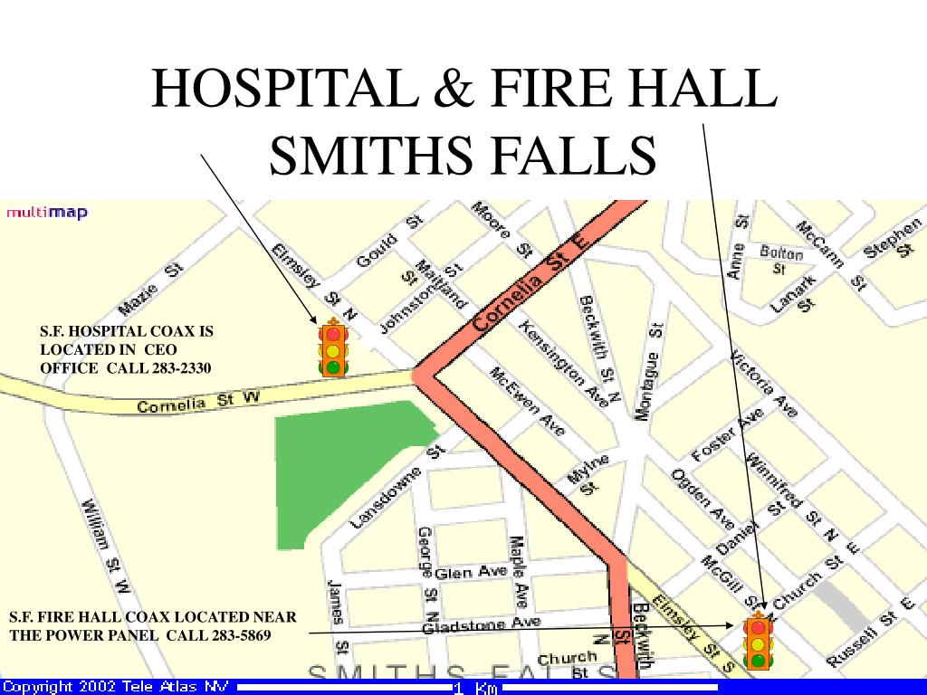 HOSPITAL & FIRE HALL SMITHS FALLS