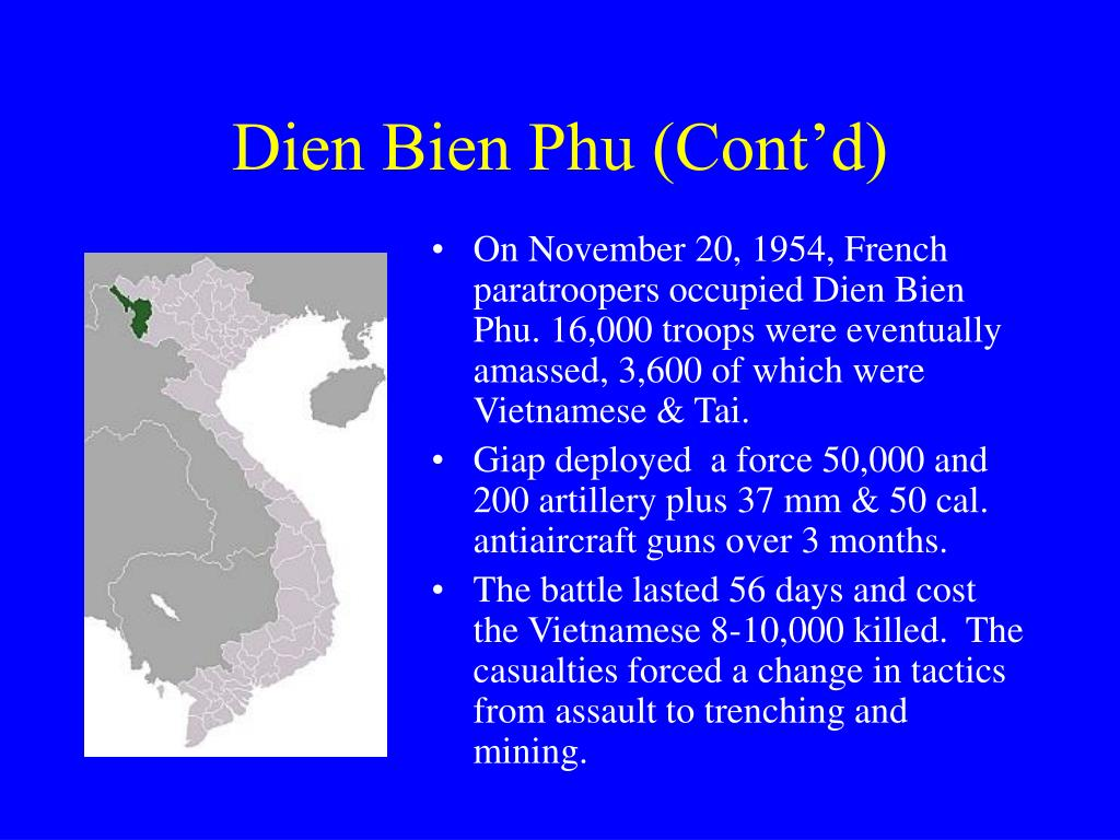 Dien Bien Phu (Cont'd)