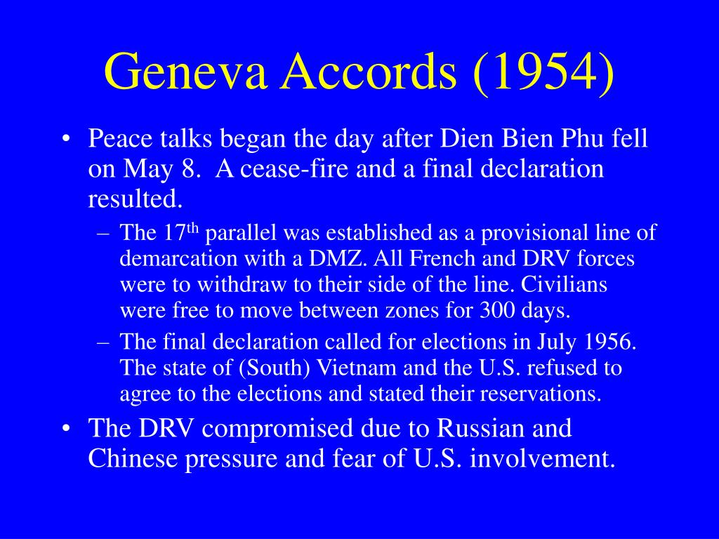 Geneva Accords (1954)