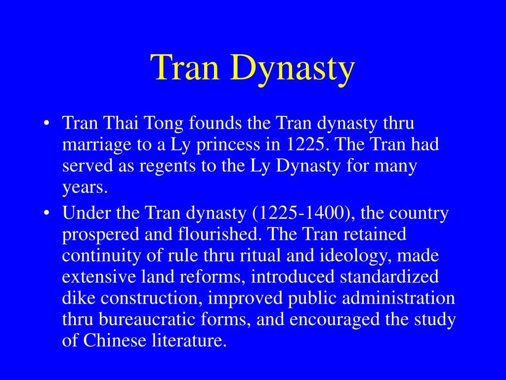 Tran Dynasty