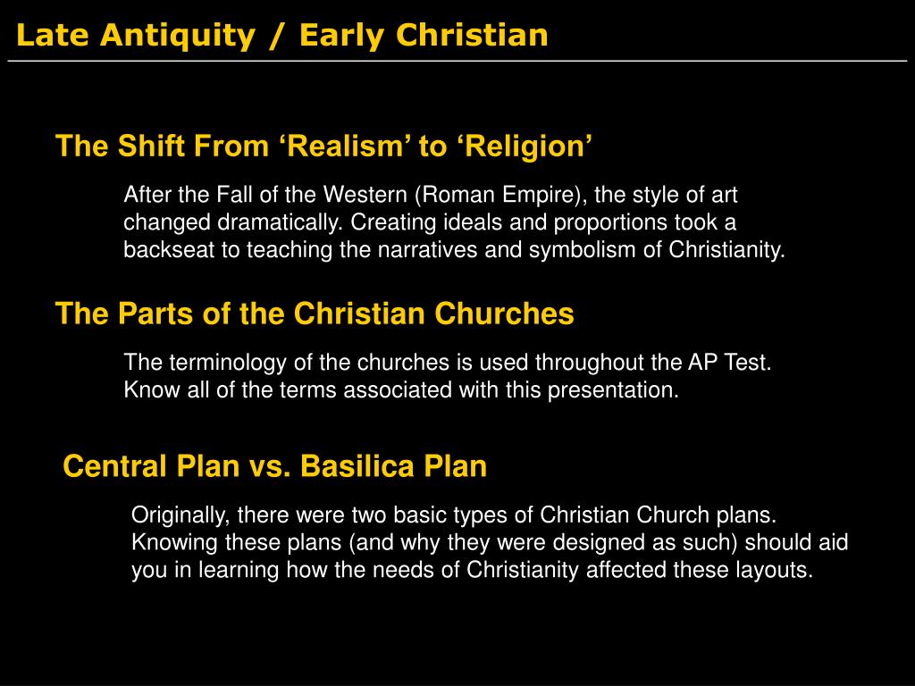 Late Antiquity / Early Christian