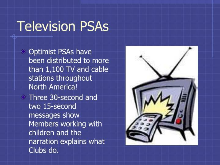 Television PSAs
