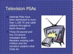 television psas